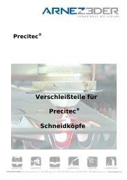 Verschleißteile für Precitec® Schneidköpfe - ARNEZEDER