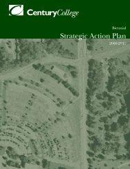 Strategic Action Plan 2009-11 - Century College