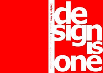 Design is One | - Southern California Institute of Architecture