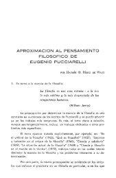 Aproximación al pensamiento filosófico de Eugenio Pucciarelli, pág ...