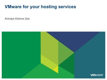 Why bet on VMware for your hosting services - WorldHostingDays