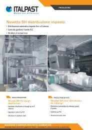 Navetta SH distribuzione impasto - Italpast