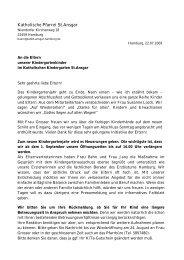Elternbrief - Katholische Kirchengemeinde Sankt Ansgar Hamburg ...