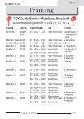 TSV News, Trainingszeiten und Termine - Handball in Schleißheim - Page 3