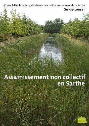 """Brochure """"L'assainissement non collectif en Sarthe"""" - CAUE"""