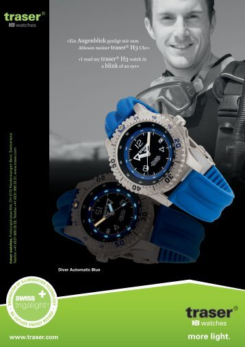 Diver Automatic Blue - Traser