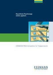 Broschüre RWA-Kompetenz Treppenraum - Essmann GmbH