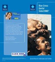 Blue Cross Dental SelectHMO Plans - Health Insurance