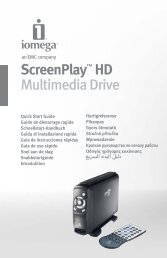 ScreenPlay™ HD Multimedia Drive