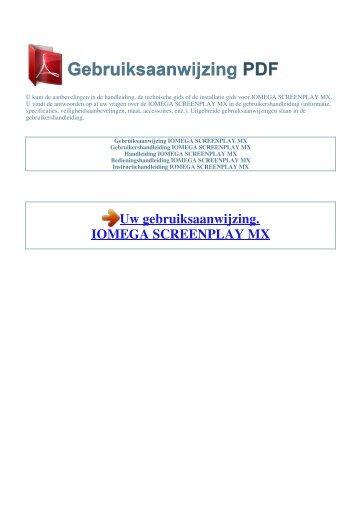 Review: iomega screenplay mx hd media player.