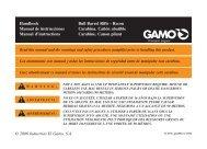 Product Manual - Gamo USA