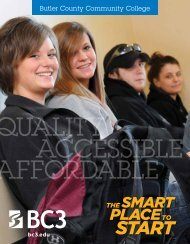 Viewbook - Butler County Community College