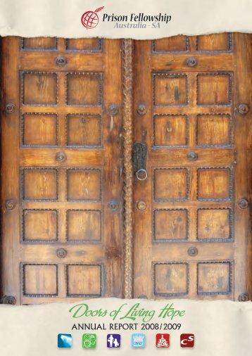 Doors of Living Hope - Prison Fellowship Australia