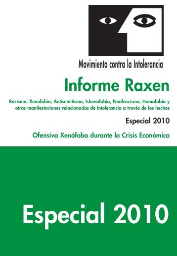 Informe Raxen ESPECIAL 2010 - ddooss