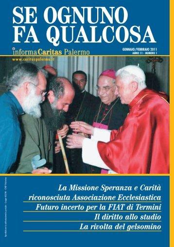 Impaginato Gennaio-Febbraio 11 - Caritas Diocesana di Palermo