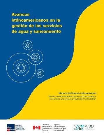 Avances latinoamericanos en la gestión de los servicios - WSP