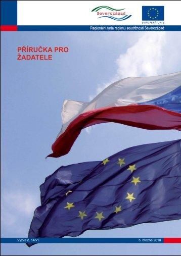 PŘÍRUČKA PRO ŽADATELE - Regionální rada regionu soudržnosti ...