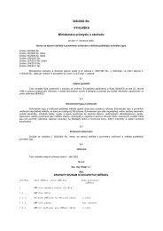 Vyhláška č. 345/2002 Sb, kterou se stanoví měřidla k povinnému ...