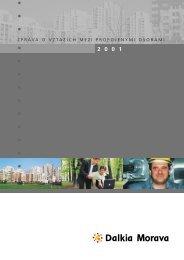 zpráva o vztazích mezi propojenými osobami - Dalkia Česká republika
