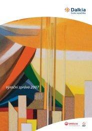Výroční zpráva za rok 2007 ve formátu PDF - Dalkia Česká republika
