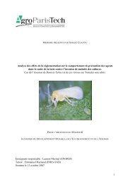MemoireCoantic - INRA Montpellier