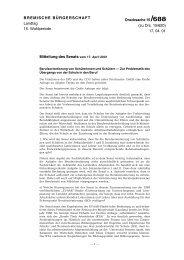 17. 04. 01 Mitteilung des Senats vom 17. April 2001 - Bremische ...