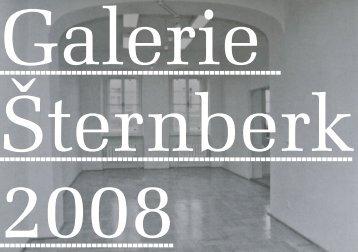 Martin Fišr (eds.), Galerie Šternberk 2008 - VVP AVU