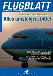 Ausgabe 1/06 - Flughafen Stuttgart