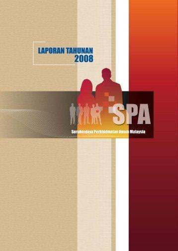 Tahun 2008 - SPA Malaysia