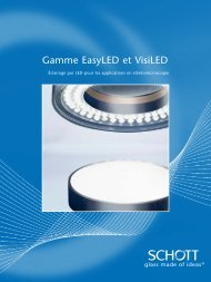 Gamme EasyLED et VisiLED - Polytec