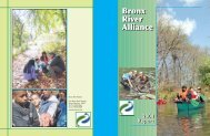2004 Annual Report - Bronx River Alliance
