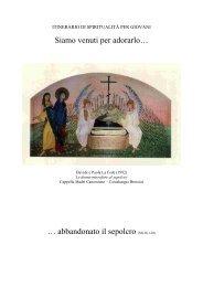 abbandonato il sepolcro - Diocesi di Brescia