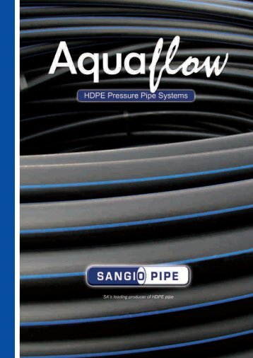 Aquaflow HDPE Pipe Catalogue - Incledon