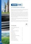 Aquaflow HDPE Pipe Catalogue - Incledon - Page 2