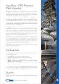 Aquaflow HDPE Pipe Catalogue - Incledon - Page 3