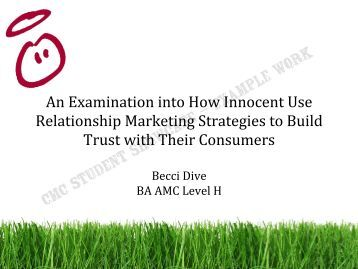 how apple uses relationship marketing