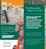 The Wangaratta Region is at risk! - Victoria State Emergency Service