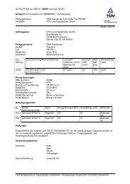 GUTACHTEN zur ABE Nr. 48299 nach §22 StVZO Anlage 6 zum ...
