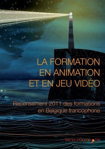 La formation en animation et en jeu vidéo - Awt