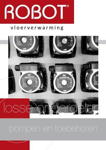 Losse onderdelen - Robot Vloerverwarming