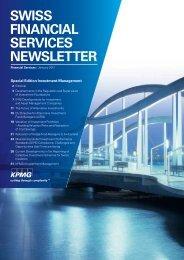 SWISS FINANCIAL SERVICES NEWSLETTER - KPMG