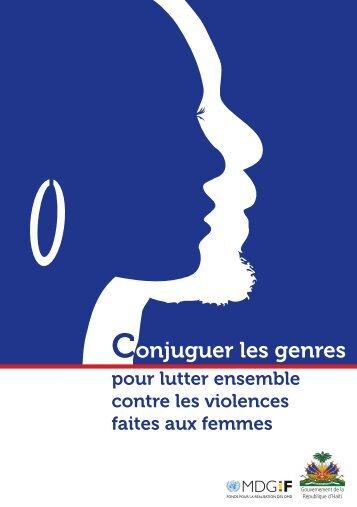 Conjuguer les genres - ONU en Haiti