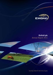 EirGrid plc Annual Report 2011