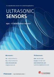 eps - 4 label/splice sensor - TR Electronic