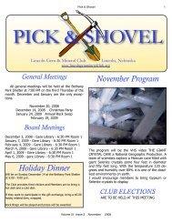 November-2008 - Lincoln Gem & Mineral Club