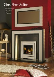 Gas Fires Suites - City Plumbing Supplies