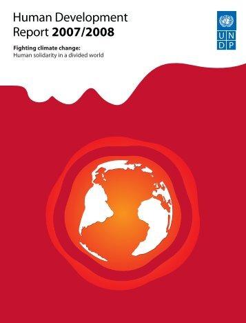 Human Development Report 2007/2008 - The Jus Semper Global ...