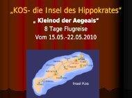 """""""KOS- die Insel des Hippokrates"""" die Insel des ... - Lks-reisen.de"""