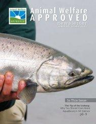 Spring 2013 Animal Welfare Approved Newsletter