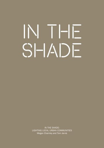Download In The Shade PDF here (3.8MB) - Helen Hamlyn Centre ...